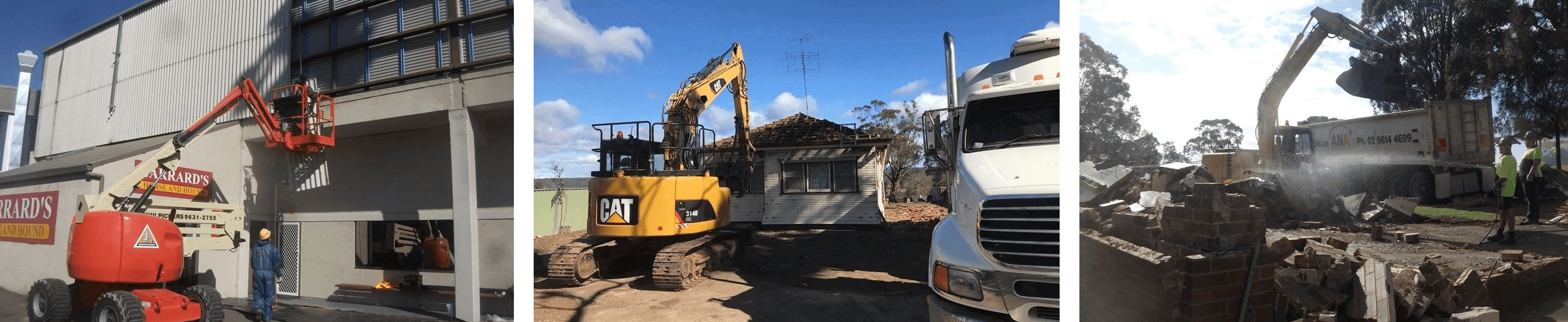 Property and Home Demolitions in Sydney with ANA Demolitions
